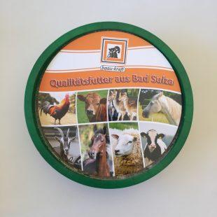 Mineralleckschale für Pferde