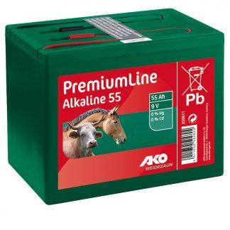 9 Volt Alkaline Trockenbatterie 55 Ah