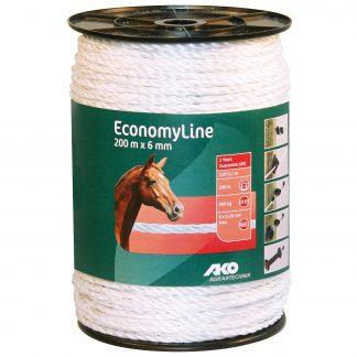 EconomyLine Weidezaunseil 200 m x 6 mm