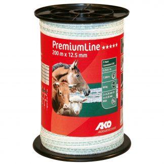 PremiumLine Weidezaunband 200m x 12,5mm